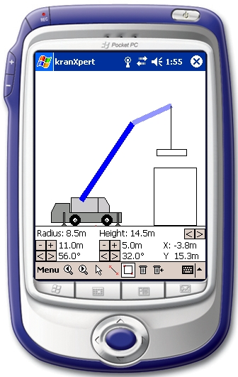 kranXpert Pocket-PC